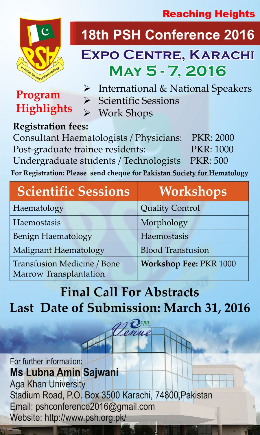 PSH Conference 2016